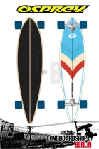 Osprey Arrow Pintail Longboard 41""