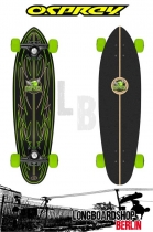 Osprey Pin Stripe Mini Cruiser