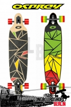 Osprey Shapes Twin Tip Drop Thru Longboard