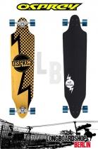 Osprey 'Bolt' Twin Tip Fade Longboard