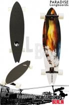 Paradise Longboard White Sunset Komplettboard
