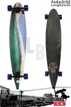 Paradise Longboard Blue Wave 48