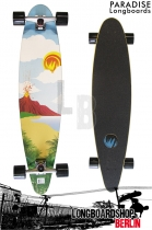 Paradise Longboard Poster 40