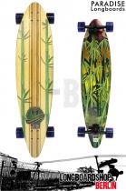 Paradise Longboard Rasta Bamboo 41