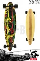 Paradise Longboard Rasta Bamboo 2 Pintail 104cm Cruiser
