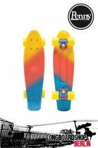 "Penny Skateboards 22"" Canary Fade Komplett Cruiser Longboard"
