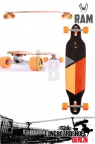 RAM Solitary 2.0 Limited Edition Komplett Longboard Orange