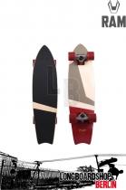 RAM Tshiko Komplett Longboard