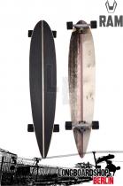 RAM Viesez olive 2015 Komplett Longboard