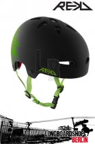 REKD Elite Icon Black/Green Helm