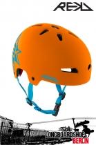 REKD Elite Icon Orange/Blue Helm