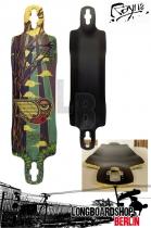 Rayne Amazon Longboard Deck Downhill Freeride 98cm