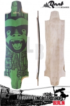 Root Longboard Deck Honey Badger Downhill Freeride Deck