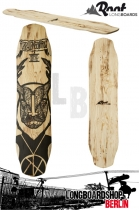 Root Longboard Deck Satyr Freestyle Carving Deck 100cm