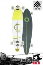 Rune Midguard Pintail Longboard Cruiser