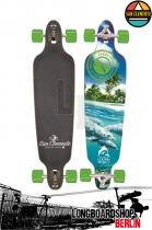 San Clemente Dolphines Komplett longboard