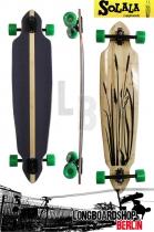 Solala Boardsteinschwalbe V2 Bamboo Longboard - Komplettbrett