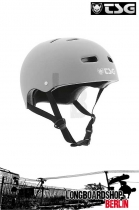 TSG Helm Skate/BMX Solid Colors Flat Grey