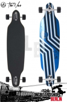 The Wave Reverso Drop Through Longboard