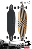 The Wave Reverso 39 DT Orange Komplett Longboard