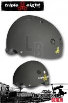 Triple Eight Brainsaver Black Rubber