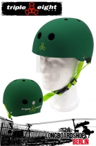 Triple Eight Brainsaver Kelly Green Rubber