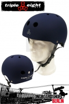 Triple Eight Brainsaver Blue Rubber