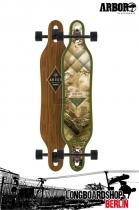 Arbor Axis Walnut Komplett Longboard