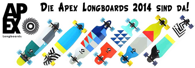 Longboards Apex 2014 Banner