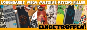 Mega Auswahl an Longboards jetzt bei Longboardshop-Berlin!